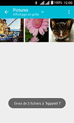 Alcatel U3 - Photos, vidéos, musique - Envoyer une photo via Bluetooth - Étape 12