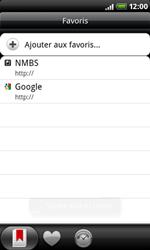 HTC A8181 Desire - Internet - Navigation sur Internet - Étape 11