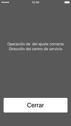 Apple iPhone SE - Mensajería - Configurar el equipo para mensajes de texto - Paso 6