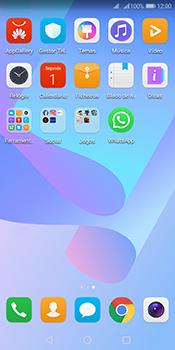 Huawei Y6 (2018) - Aplicações - Como configurar o WhatsApp -  4