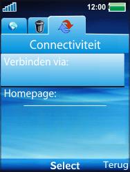 Sony Ericsson W100i Spiro - Internet - automatisch instellen - Stap 8