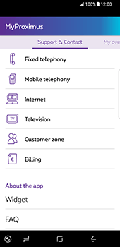Samsung Galaxy S8 - Applications - MyProximus - Step 18