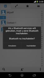 Sony Xperia M2 4G (D2303) - Contacten en data - Contacten overzetten via Bluetooth - Stap 9