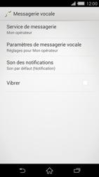 Sony Xperia Z2 (D6503) - Messagerie vocale - Configuration manuelle - Étape 6
