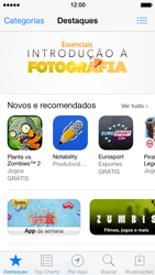 Apple iPhone iOS 7 - Aplicativos - Como baixar aplicativos - Etapa 6