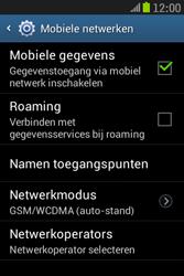 Samsung S6310 Galaxy Young - Netwerk - gebruik in het buitenland - Stap 9
