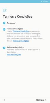 Samsung Galaxy Note 8 - Primeiros passos - Como ligar o telemóvel pela primeira vez -  8
