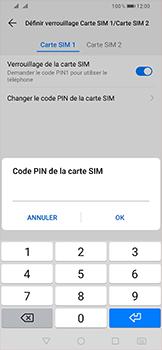 Huawei P Smart (2019) - Sécurité - modifier SIM PIN - Étape 12