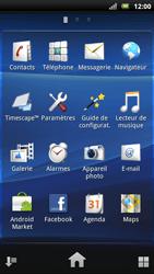 Sony Ericsson Xperia Neo - E-mail - envoyer un e-mail - Étape 2