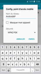 Samsung Galaxy S6 Edge - Internet et connexion - Partager votre connexion en Wi-Fi - Étape 8