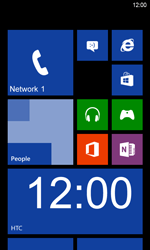 HTC Windows Phone 8S - Network - Usage across the border - Step 9