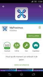 Sony E2003 Xperia E4 G - Applicaties - MyProximus - Stap 8