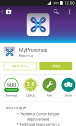 Samsung J100H Galaxy J1 - Applications - MyProximus - Step 10