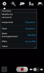 Samsung Galaxy Express - Photos, vidéos, musique - Créer une vidéo - Étape 6