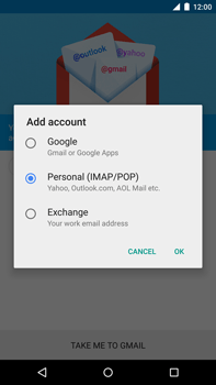 Motorola Nexus 6 - E-mail - Manual configuration - Step 9