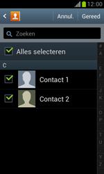 Samsung S7560 Galaxy Trend - Contacten en data - Contacten kopiëren van SIM naar toestel - Stap 8