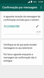 Alcatel Pop 3 - Aplicações - Como configurar o WhatsApp -  8
