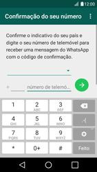 LG K4 - Aplicações - Como configurar o WhatsApp -  6