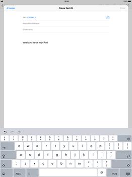 Apple iPad Pro 12.9 - iOS 11 - E-mail - Bericht met attachment versturen - Stap 6