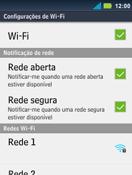 Motorola Master XT605 - Wi-Fi - Como configurar uma rede wi fi - Etapa 7