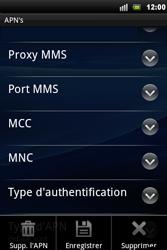 Sony Ericsson Xperia Mini Pro - MMS - configuration manuelle - Étape 12