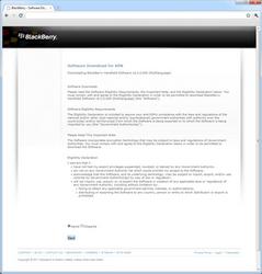 BlackBerry 9800 Torch - Software - Update installeren via PC - Stap 4