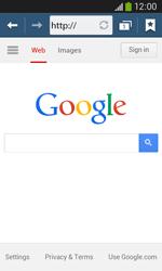Samsung Galaxy Core Plus - Internet - Internet browsing - Step 5