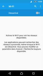 Sony Sony Xperia Z5 (E6653) - Wi-Fi - Accéder au réseau Wi-Fi - Étape 5