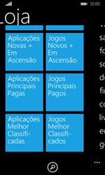 Microsoft Lumia 435 - Aplicações - Como pesquisar e instalar aplicações -  8