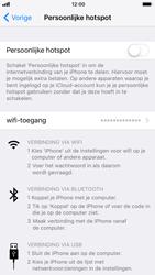 Apple iPhone 7 iOS 11 - WiFi - Mobiele hotspot instellen - Stap 4