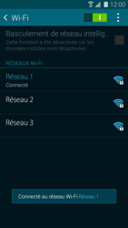 Samsung G900F Galaxy S5 - Wifi - configuration manuelle - Étape 7