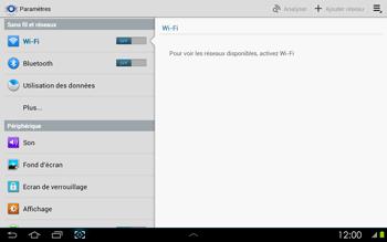 Samsung P5100 Galaxy Tab 2 10-1 - Wifi - configuration manuelle - Étape 3