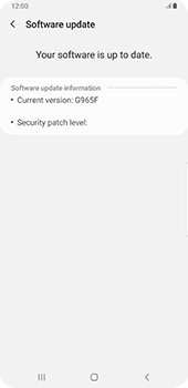 Samsung galaxy-s9-plus-android-pie - Device - Software update - Step 8