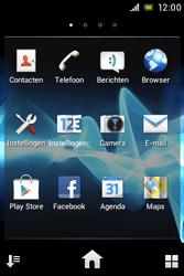 Sony ST23i Xperia Miro - E-mail - e-mail instellen: POP3 - Stap 3
