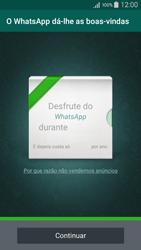 Samsung Galaxy A5 - Aplicações - Como configurar o WhatsApp -  10