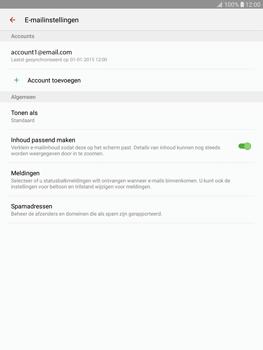 Samsung T815 Galaxy Tab S2 9.7 (SM-T815) - E-mail - Instellingen KPNMail controleren - Stap 7