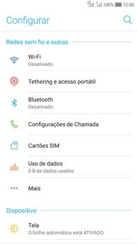 Asus Zenfone Selfie - Rede móvel - Como ativar e desativar o modo avião no seu aparelho - Etapa 4