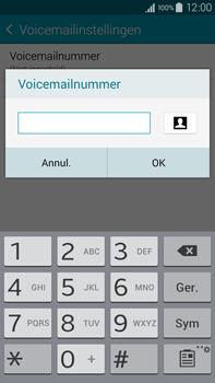 Samsung Galaxy Note 4 4G (SM-N910F) - Voicemail - Handmatig instellen - Stap 9