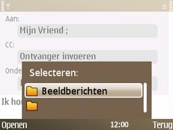 Nokia E72 - E-mail - E-mails verzenden - Stap 12