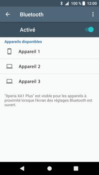 Sony Xperia XA1 Plus - WiFi et Bluetooth - Jumeler votre téléphone avec un accessoire bluetooth - Étape 6