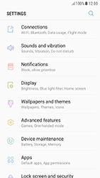 Samsung Galaxy A3 (2017) (A320) - Android Nougat - WiFi and Bluetooth - Setup Blue Tooth Pairing - Step 4
