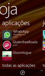 Nokia Lumia 625 - Aplicações - Como pesquisar e instalar aplicações -  6