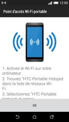 HTC Desire 510 - Internet et connexion - Partager votre connexion en Wi-Fi - Étape 10