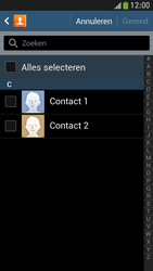 Samsung I9195 Galaxy S IV Mini LTE - Contactgegevens overzetten - delen via Bluetooth - Stap 7
