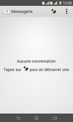 Sony Xpéria E1 Dual - Contact, Appels, SMS/MMS - Envoyer un MMS - Étape 4