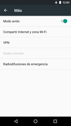 Motorola Moto G 3rd Gen. (2015) (XT1541) - Funciones básicas - Activar o desactivar el modo avión - Paso 6