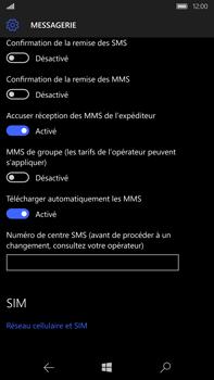 Microsoft Lumia 950 XL - SMS - configuration manuelle - Étape 6