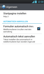 LG P700 Optimus L7 - Internet - handmatig instellen - Stap 20