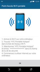 HTC One M9 - Internet et connexion - Partager votre connexion en Wi-Fi - Étape 13