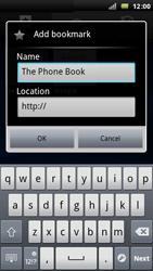 Sony Ericsson Xperia Arc - Internet - Internet browsing - Step 8
